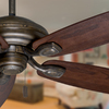 Casablanca Utopian 52-in Aged Bronze Downrod or Close Mount Indoor/Outdoor Ceiling Fan ENERGY STAR