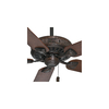 Casablanca Ainsworth 60-in Brushed Cocoa Downrod or Close Mount Indoor Ceiling Fan