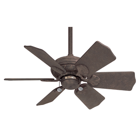 Casablanca 31-in Wailea Rustic Iron Outdoor Ceiling Fan