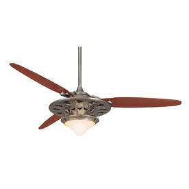 Casablanca Marrekesh 64-in Antique Pewter Ceiling Fan with Remote