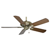 Casablanca 53-in Capistrano Antique Brass Ceiling Fan ENERGY STAR