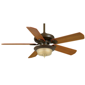Casablanca 53-in Capistrano Oil Rubbed Bronze Ceiling Fan with Remote ENERGY STAR