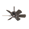Casablanca Wailea 31-in Brushed Cocoa Outdoor Coastal/Nautical Downrod Mount Ceiling Fan (6-Blade)