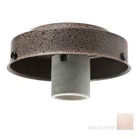 Casablanca 1-Light Brushed Nickel Fluorescent Ceiling Fan Light Kit