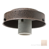 Casablanca 1-Light Brushed Nickel Fluorescent Ceiling Fan Light Kit