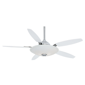 Casablanca 52-in Antion Chrome Ceiling Fan with Light Kit