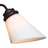 Casablanca Cased White Cone Frosted Glass Shade