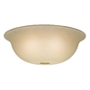 Casablanca Tea Stain Bell Frosted Glass Shade