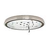 Casablanca Low Profile 1-Light Brushed Nickel Fluorescent Ceiling Fan Light Kit
