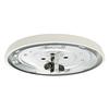 Casablanca Low Profile 2-Light Snow White Incandescent Ceiling Fan Light Kit