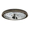 Casablanca Low Profile 2-Light Aged Bronze Incandescent Ceiling Fan Light Kit