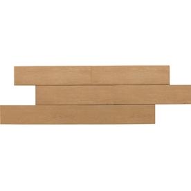 American Olean 12-Pack Terreno Teak Thru Body Porcelain Floor Tile (Common: 6-in x 24-in; Actual: 5.87-in x 23.62-in)