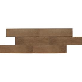 American Olean 12-Pack Terreno Sandalwood Thru Body Porcelain Floor Tile (Common: 6-in x 24-in; Actual: 5.87-in x 23.62-in)