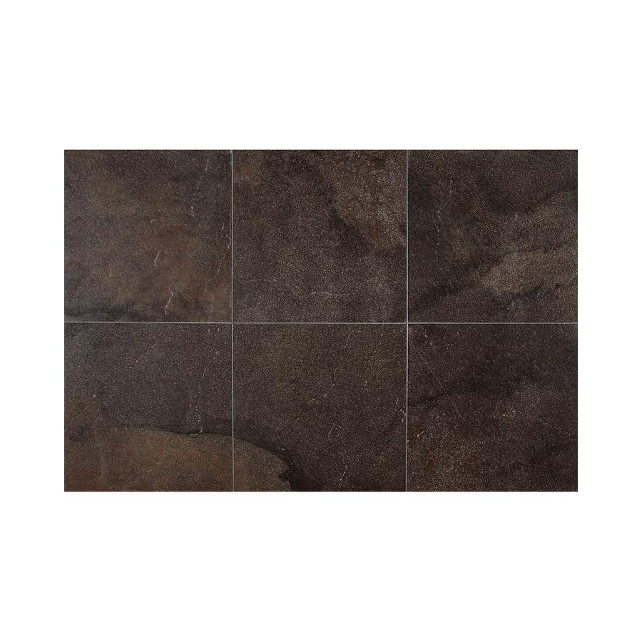Bathroom Floor Tile Menards : Roca tile athena gray glazed ceramic quot at