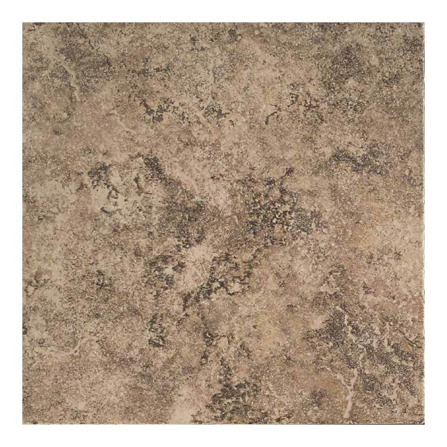 Shop american olean 12 in x 12 in chocolate mousse ceramic floor tile at - Lowes floor tiles porcelain ...