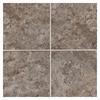 American Olean 8-Pack Belmar Pewter Ceramic Floor Tile (Common: 18-in x 18-in; Actual: 17.75-in x 17.75-in)