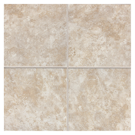 American Olean 11-Pack 12-in x 12-in Belmar Pearl Ceramic Floor Tile