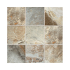 American Olean 8-Pack Kendal Slate Easdale Neutral Glazed Porcelain Indoor/Outdoor Floor Tile (Common: 18-in x 18-in; Actual: 17.75-in x 17.75-in)