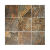 American Olean Kendal Slate 44-Pack Carlisle Black Porcelain Floor Tile (Common: 6-in x 6-in; Actual: 5.81-in x 5.81-in)