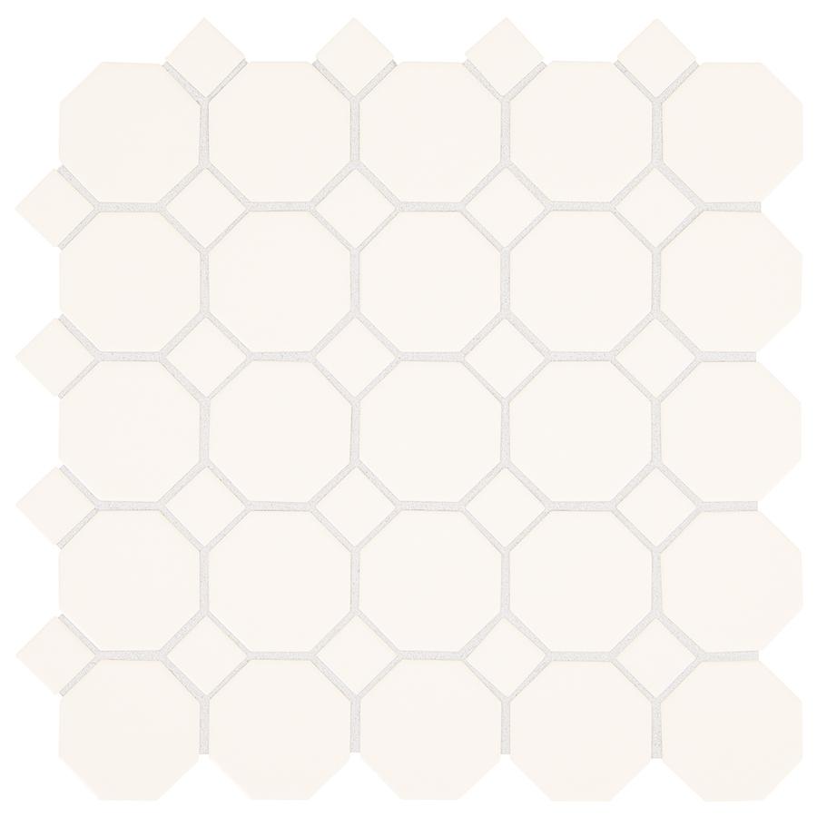 Shop american olean sausalito white white ceramic mosaic for Sausalito tile