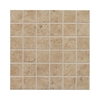 Style Selections 12-in x 12-in Fall Creek Fawn Glazed Porcelain Listello Tile