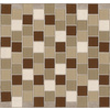 American Olean 12-in x 12-in Urban Sand Glass Wall Tile