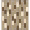 American Olean 12-in x 12-in Parchment Glass Wall Tile