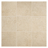 American Olean 6-Pack Avante Bianco Glazed Porcelain Indoor/Outdoor Floor Tile (Common: 19-in x 19-in; Actual: 19.75-in x 19.75-in)