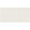 American Olean 12-Pack Unglazed Porcelain Mosaics Ice White Thru Body Porcelain Mosaic Square Indoor/Outdoor Floor Tile (Common: 12-in x 24-in; Actual: 11.93-in x 23.93-in)
