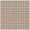 American Olean 12-Pack Unglazed Porcelain Mushroom Thru Body Porcelain Mosaic Square Indoor/Outdoor Floor Tile (Common: 12-in x 24-in; Actual: 11.93-in x 23.93-in)