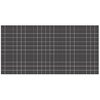American Olean Unglazed Abrasive 12-Pack Black Uniform Squares Mosaic Thru Body Porcelain Floor Tile (Common: 12-in x 24-in; Actual: 11.93-in x 23.93-in)