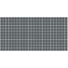 American Olean 12-Pack Unglazed Porcelain Mosaics Charcoal Thru Body Porcelain Mosaic Square Indoor/Outdoor Floor Tile (Common: 12-in x 24-in; Actual: 11.93-in x 23.93-in)
