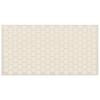 American Olean 12-Pack Unglazed Porcelain Biscuit Thru Body Porcelain Mosaic Indoor/Outdoor Floor Tile (Common: 12-in x 24-in; Actual: 11.93-in x 23.93-in)
