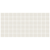 American Olean Unglazed 12-Pack Ice White Uniform Squares Mosaic Thru Body Porcelain Floor Tile (Common: 12-in x 24-in; Actual: 11.93-in x 23.93-in)