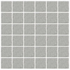 American Olean 12-Pack Unglazed Porcelain Light Smoke Speckled Thru Body Porcelain Mosaic Square Indoor/Outdoor Floor Tile (Common: 12-in x 24-in; Actual: 11.93-in x 23.93-in)