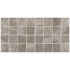 American Olean Bevalo 12-Pack Mist Uniform Squares Mosaic Ceramic Floor Tile (Common: 12-in x 24-in; Actual: 11.93-in x 23.93-in)