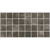 American Olean 12-Pack Bevalo Charcoal Ceramic Mosaic Square Indoor/Outdoor Floor Tile (Common: 12-in x 24-in; Actual: 11.93-in x 23.93-in)