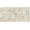 American Olean 12-Pack Danya Stream Ceramic Mosaic Square Indoor/Outdoor Floor Tile (Common: 12-in x 24-in; Actual: 11.68-in x 23.62-in)