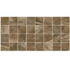 American Olean 12-Pack Danya Riverbed Ceramic Mosaic Square Indoor/Outdoor Floor Tile (Common: 12-in x 24-in; Actual: 11.68-in x 23.62-in)