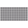 American Olean Unglazed Porcelain Mosaics Abrasive 12-Pack Storm Gray Uniform Squares Mosaic Thru Body Porcelain Floor Tile (Common: 12-in x 24-in; Actual: 11.93-in x 23.93-in)