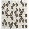 allen + roth Allen and Roth Harlequin Mosaic Glass Wall Tile (Common: 12-in x 12-in; Actual: 12.25-in x 13.25-in)