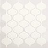 American Olean Vaughn Gloss White Mosaic Porcelain Wall Tile (Common: 10-in x 13-in; Actual: 10.87-in x 12.87-in)