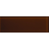 American Olean Color Appeal Copper Brown Glass Wall Tile (Common: 4-in x 12-in; Actual: 3.87-in x 11.75-in)