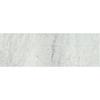 American Olean Mooreland Carrara White Ceramic Bullnose Tile (Common: 3-in x 9-in; Actual: 2.97-in x 8.98-in)