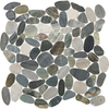 American Olean Delfino Stone Paradise Blend Pebble Mosaic Natural Stone Pebble Floor and Wall Tile (Common: 12-in x 12-in; Actual: 12.5-in x 12.5-in)