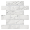 American Olean Mooreland 1 Carrara White Subway Mosaic Ceramic Wall Tile (Common: 11-in x 11-in; Actual: 10.93-in x 10.93-in)