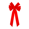 Holiday Living 21-in 6-Loop Decorative Bow