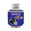 Bottle Skinz 16-in H x 34-in dia Purple Polyester Baltimore Ravens Propane Tank Cover