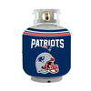 Bottle Skinz 16-in H x 34-in dia Navy Polyester New England Patriots Propane Tank Cover