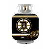 Bottle Skinz 16-in H x 34-in dia Black Polyester Boston Bruins Propane Tank Cover